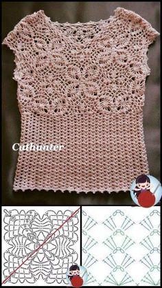 Crochet Coat, Crochet Cardigan, Love Crochet, Crochet Motif, Beautiful Crochet, Crochet Clothes, Crochet Flowers, Crochet Stitches, Crochet Baby