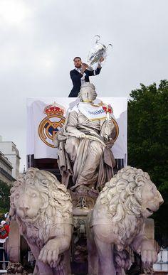 El Real Madrid celebró la Úndecima en la Cibeles