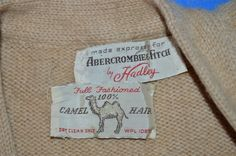 http://www.ebay.com/itm/vintage-50s-ABERCROMBIE-FITCH-CAMEL-HAIR-HADLEY-WOOL-CARDIGAN-SWEATER-SMALL-S-/371742801790?hash=item568d98ff7e:g:68MAAOSwLnBX4fLs