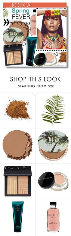 """""""Tropical Spring Fever"""" by chocolate-addicted-angel ❤ liked on Polyvore featuring beauty, Pier 1 Imports, Urban Decay, NARS Cosmetics, Marc Jacobs, Oribe and Bobbi Brown Cosmetics"""