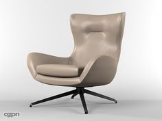 Minotti Jensen armchair by blenderworkshop - Household - 3D Models at CGPeopleNetwork.com