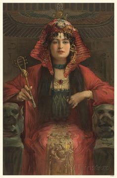 Cleopatra (Constance Collier?)