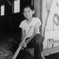 Baseball in American Concentration Camps: History, Photos, and Reading Recommendations - Densho: Japanese American Incarceration and Japanese Internment Japanese Boy Names, Japanese Kids, Still Picture, Japanese American, American Sports, Photo Essay, American History, World War, Baseball Teams