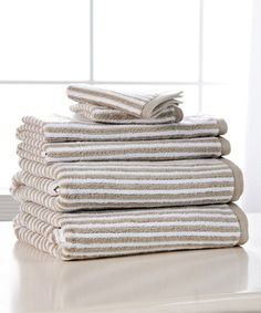 Stack crisp and clean towels to give your guest suite a five-star feel.