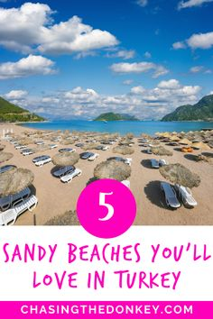 Turkey Travel Blog: If you're keen to get away this summer (and let's face it, who isn't), Turkey could be a fantastic option for you. I've managed to narrow it down to 5 of the best sandy beaches along that stunning south coast. These five sandy beaches in Turkey show you just how beautiful Turkish beaches are! #Turkey #TurkeyTravel #TravelTips How Beautiful, Beautiful Beaches, Marmaris, The Donkey, Paragliding, Pine Forest, Turkey Travel, Black Sea, Sandy Beaches