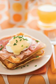 Rise and Shine Breakfast Recipes: Waffles Benedict