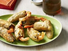 Get Shrimp-Stuffed Jalapeno Poppers Recipe from Food Network