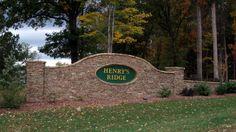 Entrance - Henry's Ridge