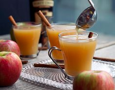 This Spiked Mulled Cider is perfect for fall.
