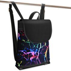 Jarry One Lightning black Lightning, Drawstring Backpack, Backpacks, Bags, Fashion, Handbags, Moda, Fashion Styles, Lightning Storms
