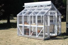 greenhouse built by Rod