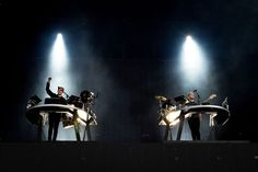 Disclosure performs on main stage