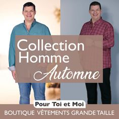 La mode homme grande taille cet automne est classe et confortable. #Tshirt #polo #shirt #chemise  #jacket #veste #débardeur  #sweatshirt #gilet  #Bigandblunt #celebratemysize #effyourbeautystandards  #plussizemasculino #plussizemenswear #hommegrandetaille Sweat Shirt, Blazer, Plus Sized Clothing, Mens Big And Tall, Man Women, Autumn, Shirt, Winter, Blazers