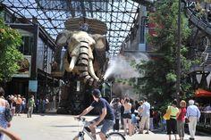 The Great Elephant Project by Les Machines de l'île, Nantes