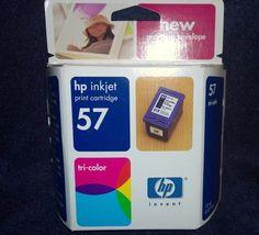 HP 57 Tri-Color Pack Print Cartridge New for Deskjet Photosmart Officejet etc  #HP