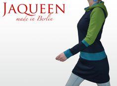 Winter Kleid Sweat Kapuze von Jaqueen auf DaWanda.com