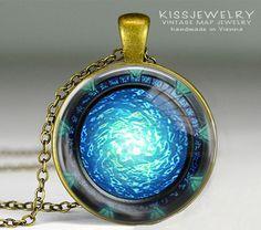 Medaillonketten - Stargate portal Zeitreise Kette - ein Designerstück von…