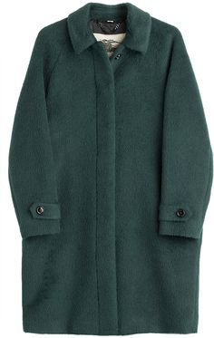 Burberry London Carlington Alpaca and Wool Blend Coat