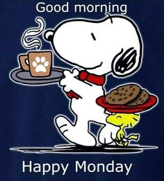 Snoopy and Woodstock friendship and love -- all you need is Snoopy and a cup of coffee -- Good morning and happy Monday Good Morning Snoopy, Good Morning Happy Monday, Good Morning Greetings, Monday Greetings, Happy Monday Funny, Happy Monday Quotes, Happy Tuesday, Snoopy Love, Snoopy And Woodstock