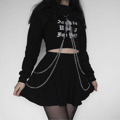 punk style female looks- looks femininos estilo punk collection of punk style female looks - Style Outfits, Punk Outfits, Cute Casual Outfits, Mode Outfits, Grunge Outfits, Girl Outfits, Egirl Fashion, Grunge Fashion, Korean Fashion