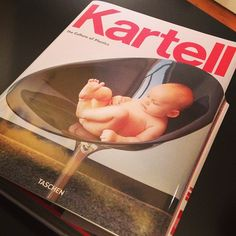 Kartell goes Taschen   ||  Siamo qui per lui #kartellbook #kartell #taschen - Thanks to @waitmagazine Instagram User