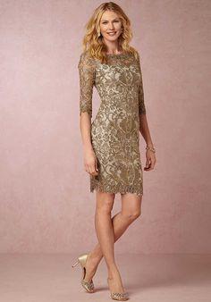 b7f04b56d8f BHLDN (Mother of the Bride) Hartley Gold Mother Of The Bride Dress Gold  Dress