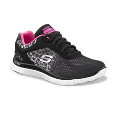 Skechers Flex Appeal Serengeti Athletic Shoes - Women