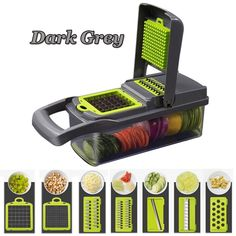 Buy New Creative Mandoline Multipurpose Slicer Vegetable Fruits Cutter Chopper Potato Peeler Carrot Grater Dicer at Wish - Shopping Made Fun Cool Kitchen Gadgets, Kitchen Tools, Cool Kitchens, Kitchen Products, Kitchen Supplies, Kitchen Dining, Kitchen Appliances, Mandoline, Vegetable Chopper