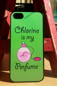 Black Friday Special chlorine is my perfume swim swimmer swimming pool phone case iPhone 4, 5, 5c, 6, 6 plus Samsung 4,5 iPod 4,5 by FlipTurnTags on Etsy
