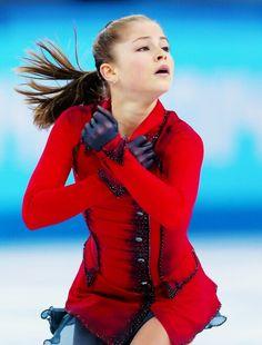 Yulia Lipnitskaya helps Team Russia take a Gold Medal in the Team Event, Sochi 2014.