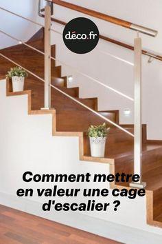 Lieu de passage souvent visible de la maison, la cage d'escalier doit être valorisée à sa juste mesure. Elément central de la structure d'une maison, elle mérite une attention toute particulière afin de réussir sa mise en valeur. Voici quelques règles à suivre pour mener à bien cette étape. Home