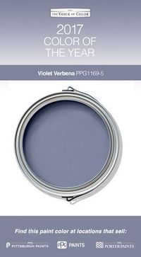 2017 Paint Color of the Year, Violet Verbena! Violet Verbena adapts to surrounding environments and complements a variety of design aesthetics, from playful rooms to tranquil spaces.great for my bathroom! Room Colors, Wall Colors, House Colors, Interior Paint Colors, Paint Colors For Home, Paint Colours, Modern Paint Colors, Diy Interior, Interior Design