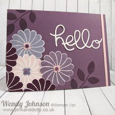 Stampin' Up! Crazy about You stamp set