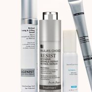 Research has shown that a combination of vitamins in cosmetics is the way to achieve the best results, including the combination of vitamins A, C, and E. In a double-whammy myth-buster, retinol proved to be not only effective!  when paired with vitamin C, but the two also worked beautifully to defend skin against free radicals when applied under a sunscreen!