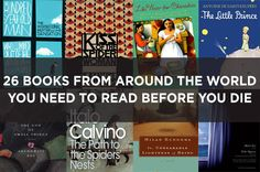 26 Books From Around The World You Need To Read Before You Die