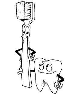 dentist dentist good friends coloring pages dentist good friends coloring pagesfull size image