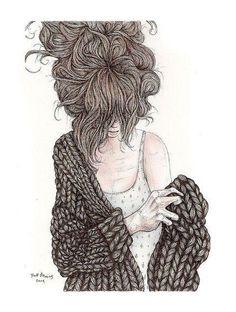 I <3 comfy sweaters