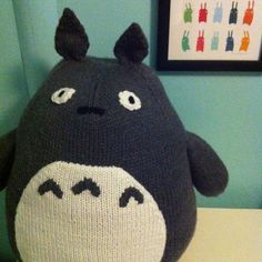 Ravelry: abackus' Totoro! Knitting Toys, Creative Kids, Stuffed Toys Patterns, Totoro, Knits, Ravelry, Knit Crochet, Fangirl, Hobbies