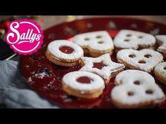 Linzer Plätzchen mit Marmelade / Hildabrötchen / Spitzbuben - Sallys Blog