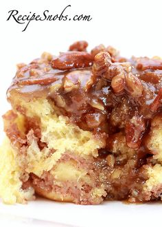 Cream Cheese Stuffed Sticky Buns 1 cup warm milk 1/4 cup sugar 1 packet quick rise yeast 1/2 cup warm water 1 tsp vanilla extract 2 eg...
