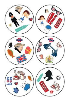 Dobble London English Fun, English Lessons, English Class, Teaching English, Speaking Games, Matching Games, Great Britain, Games For Kids, Fun Activities
