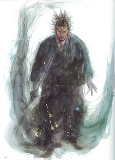"""""""Vagabond"""" by Takehiko Inoue : """"In strategy it is important to see distant things as if they were close and to take a distanced view of close things. It is important to know the enemy's sword and not to be distracted by insignificant movements of his sword. You must study this. The gaze is the same for single combat and for large-scale combat."""" - Miyamoto Musashi"""