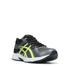 ASICS Men's Gel-Contend 3 Running Shoes (Grey/Yellow/Black) - 10.0 D
