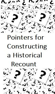 Written for teachers, but has good instructional pointers about writing a historical recount (year 5). Go to page 6 - 8 for explanations about how to write an introduction and page 9 has how to create an outline.   http://dera.ioe.ac.uk/4930/3/nls_y5booster_hisrecount.pdf