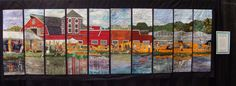 slice quilts | Don't miss The Slice of Life quilts by the Coastal Quilt Artists at ...
