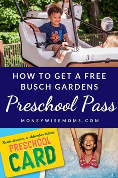 How to Get a Free Busch Gardens Preschool Pass 2019 plus other ways to get into Busch parks like Sea World for free! Busch Gardens Tampa Bay, Mid Atlantic States, California Kids, Family Theme, Admission Ticket, Ways To Save Money, Money Tips, Free Preschool, Birth Certificate