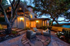 85 Oakmont Thomas Henthorne #realtor #realestate #luxuryhome #home #outdoor #outdoorspace #firepit #luxury #marin #sanfrancisco