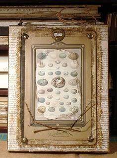 framed egg print
