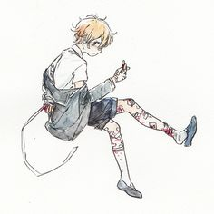 "birries: "" you keep getting hurt "" guro anime boy"