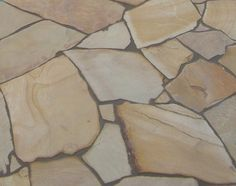 Natural Split Mint Sandstone Crazy Paving. Available in a mixture of diameters from 300-700mm with thickness from 18-28mm. This Sandstone Crazy Paving has a natural split, textured surface, meaning it provides a non-slip finish for your paving area. Mint Crazy Paving is also available in Sandstone Tiles: 400x400mm, 500x500mm, 600x300mm, 800x400mm. Available in other sizes by request.